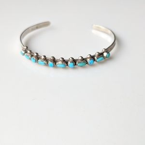 Jewelry - Sterling Silver Turquoise Bracelet